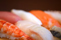 This is japanese traditional dishes sushi Stock Photo