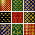 Japanese traditional pattern Stock Image