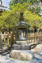 Japanese traditional stone lantern in Kotokuin tem Royalty Free Stock Photo