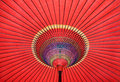 Japanese traditional umbrella Royalty Free Stock Photography