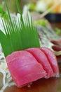 japanese tuna sashimi - maguro Royalty Free Stock Photo
