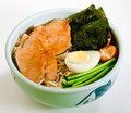 Japanese udon ramen Royalty Free Stock Photo