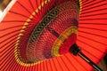 Japanese umbrella Royalty Free Stock Photo