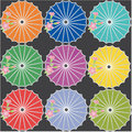Japanese umbrellas Stock Photography
