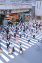 Japanese urban life Royalty Free Stock Photo