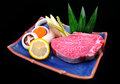 Japanese wagyu Royalty Free Stock Photo