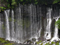 Japanese waterfall Shiraito Royalty Free Stock Photo