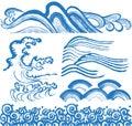 Japanese waves.