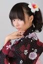 Japanese woman Royalty Free Stock Photos