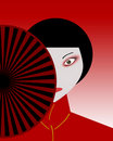 Japanese women Royalty Free Stock Images