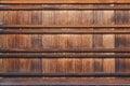 Japanese Wood Panel Royalty Free Stock Photo