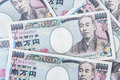 Japanese yen currency Royalty Free Stock Photo