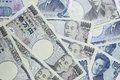 Japanese yen the currency from japan Royalty Free Stock Photo
