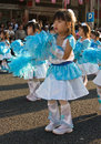 Japanese young children Festival Dancers Royalty Free Stock Photography