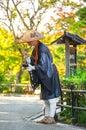 JAPANESE ZEN BUDDHIST MONK CHANTING.