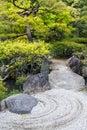 Japanese Zen Garden Royalty Free Stock Photo