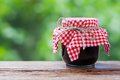 Jar of jam Royalty Free Stock Photo