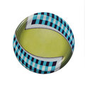 Jar lid colorful designed round Stock Image