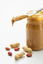 Jar of Peanut Butter Stock Images
