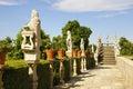 Jardim Episcopal Garden, Castelo Branco Royalty Free Stock Photography