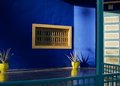 Jardin majorelle ii morroco marakesh picture Royalty Free Stock Images