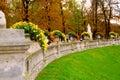 Jardins du Luxemburgo Imágenes de archivo libres de regalías