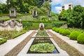 Jardins palacio de cristal do porto portugal Royalty Free Stock Images