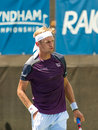Jarkko nieminen plays at the winston salem open Stock Images
