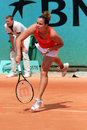 Jarmila Gajdosova (Groth) at Roland Garros Stock Images