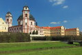 Jaromerice nad rokytnou chateau czech republic Stock Photography