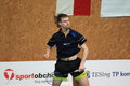 Jaroslav holecek badminton Photos stock