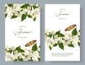Jasmine flower banners