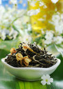 Jasmine Green Tea Royalty Free Stock Photos