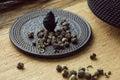 Jasmine pearl tea Royalty Free Stock Photo