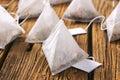 Jasmine tea bags Royalty Free Stock Photo