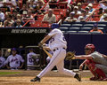 Jason phillips new york mets catcher image taken from color slide Royalty Free Stock Photography