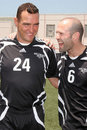 Jason Statham, Vinnie Jones Stock Images