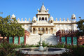 Jaswant thada in jodhpur india Royalty Free Stock Photography