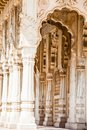 Jaswant thada in jodhpur rajasthan Royalty Free Stock Photos