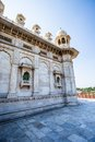 Jaswant thada in jodhpur rajasthan Royalty Free Stock Images