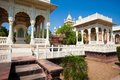 Jaswant thada in jodhpur rajasthan Stock Photo
