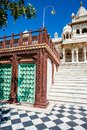 Jaswant thada in jodhpur white temple rajasthan Royalty Free Stock Photography