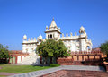 Jaswant Thada mausoleum in India Stock Images