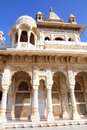Jaswant Thada mausoleum in India Stock Image