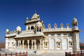 Jaswant thada mausoleum in india jodhpur Royalty Free Stock Photography