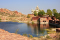 Jaswant Thada Mausoleum, Jodhpur, India Royalty Free Stock Photo