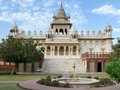 Jaswant thada scenery at located in a city named jodhpur in rajasthan india Stock Image