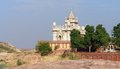 Jaswant thada scenery at located in a city named jodhpur in rajasthan india Stock Photography