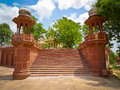 Jaswant Thada Staircase Stock Photo