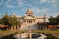 Jaswant thada white temple Stock Image